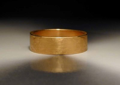 unique mens pure gold wedding ring
