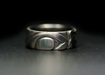unique mens wedding ring inuit