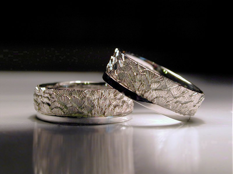 Palladium unique wedding and engagement rings jim dailing palladium the new white metal for unique wedding and engagement rings uniquewomensweddingringwaterwaves junglespirit Gallery