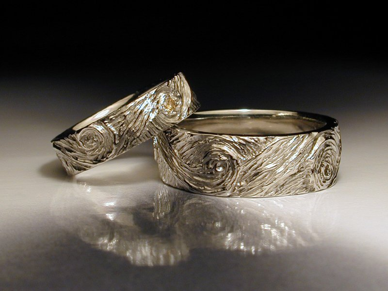 Unique wedding and engagement rings jim dailing for Unique wedding ring