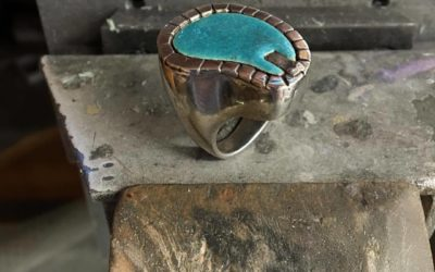 Recalling the past for a new wedding ring design